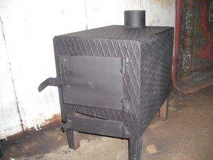 Сделать печь в гараже своими руками