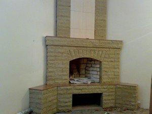 Проекты каминов из огнеупорного кирпича