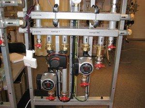Сборка гребенки для воды и распределительный коллектор для водоснобжения