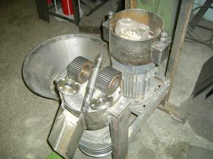 Раструб самодельного гранулятора
