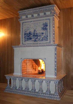 Печь-голландка