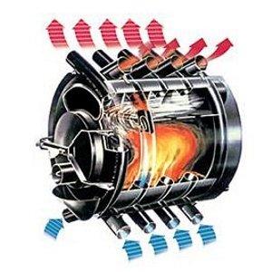 Печь-газогенератор