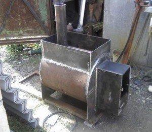 Рис.1. Металлическая печь