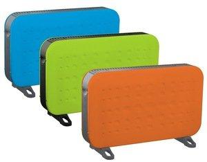 Дизайнерские цветные электрические и водяные конвекторы