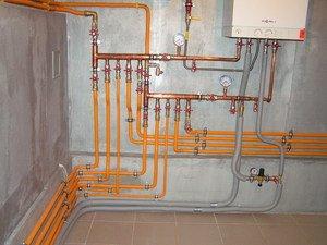 Схема отопление полипропиленом своими руками фото 465