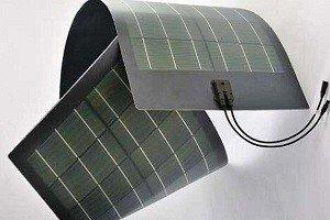 Солнечная батарея полимерного вида