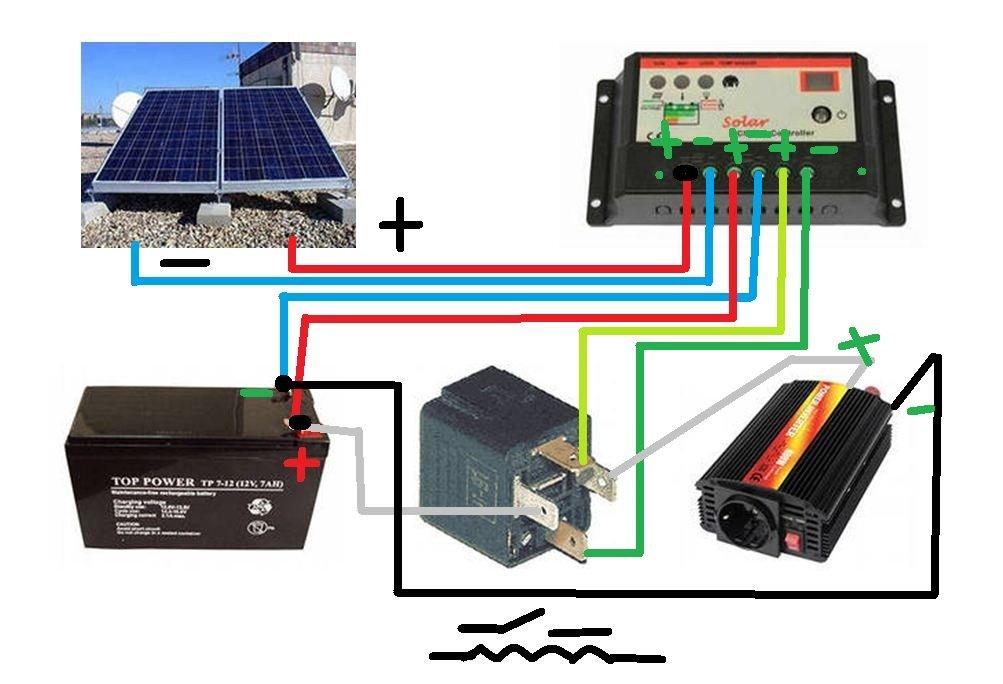 Как сделать из солнечной батареи источник питания