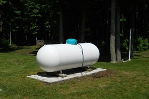 Газгольдер наземного горизонтального типа
