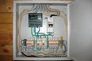 Где установить счетчик электроэнергии