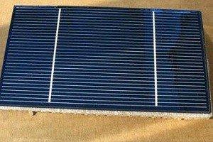 Пластина для солнечной батареи