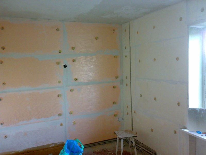 Утепление стены в угловой квартире изнутри