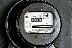 Стандартный однотарифный электросчетчик