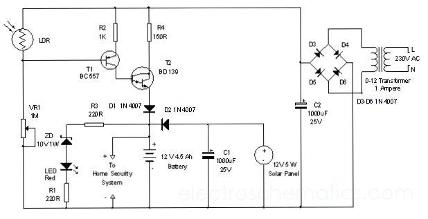 Схема контроллера своими руками 170
