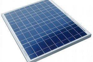 Солнечная батарея с поликристаллами