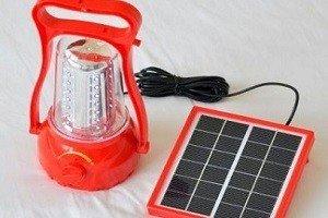 Солнечный фонарь для кемпинга