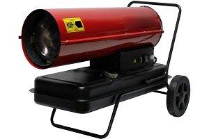 Использование дизельных тепловых пушек для обогрева: преимущества, типы и описание популярных моделей