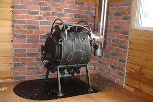 Как сделать Печь булерьян своими руками: схема, чертеж и)
