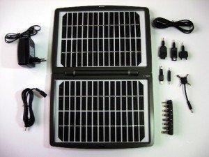 зарядка для ноутбука на солнечной батарее