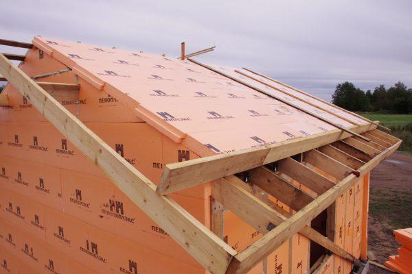 Пеноплекс на крыше
