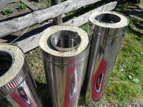Трубы с утеплителем