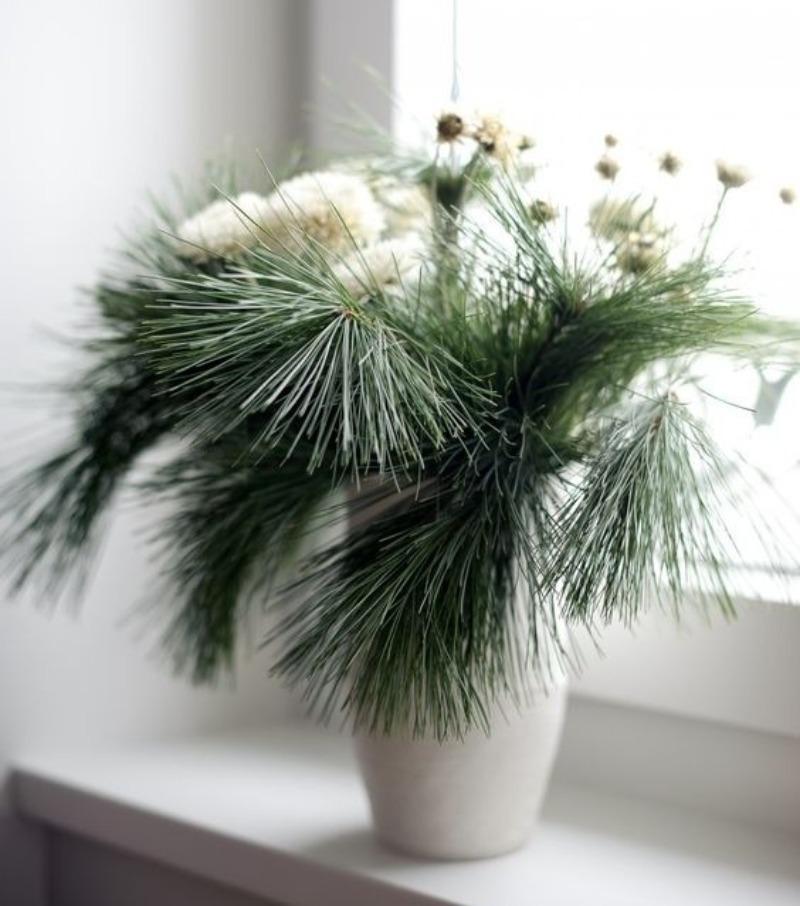 Зимний букет: 7 идей для украшения интерьера