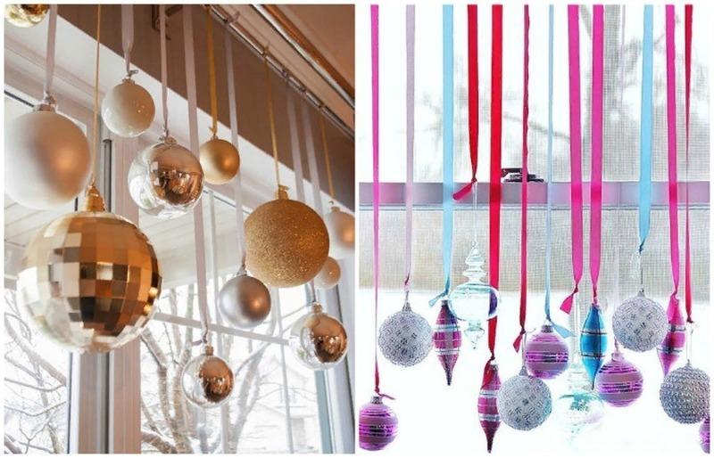 7 идей для новогоднего оформления окон в доме