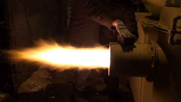 Горелка факельного типа