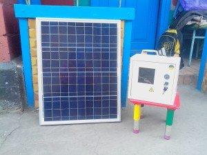 Вариант солнечной электростанции
