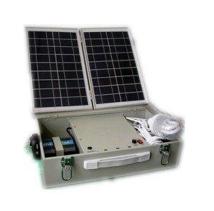Переносная электростанция на солнечной батарее