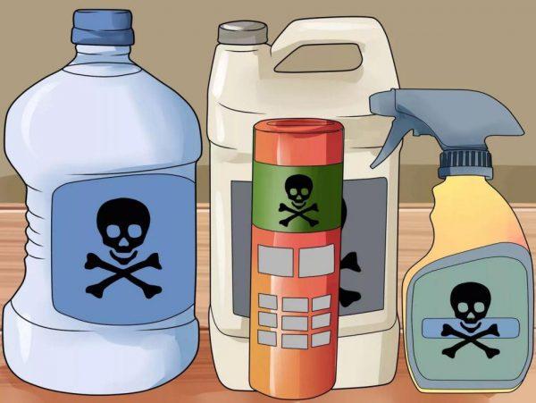 Щелочные и кислотные средства против засоров в трубах