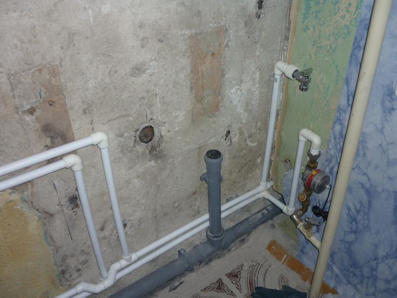 Замена труб в ванной и туалете самостоятельно: инструкция