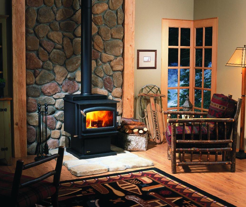отделка печей каминов в деревянном доме фото величине угла