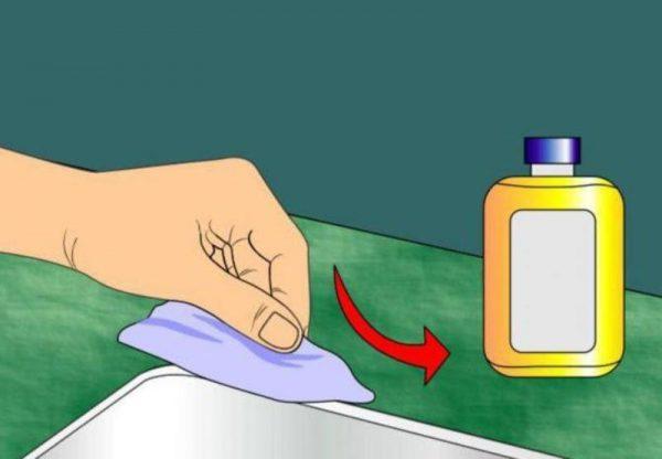 Пример использования химического средства