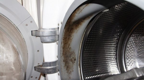 Плесень в стиральной машине