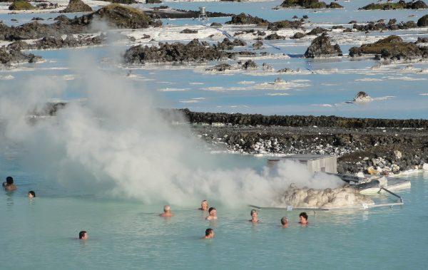 геотермальный курорт в Гриндавике