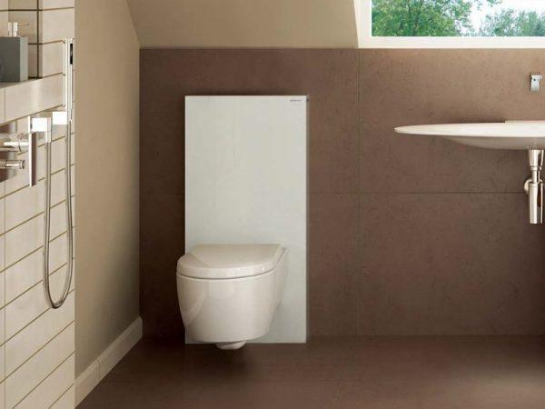 Инсталляция для унитаза в ванной комнате