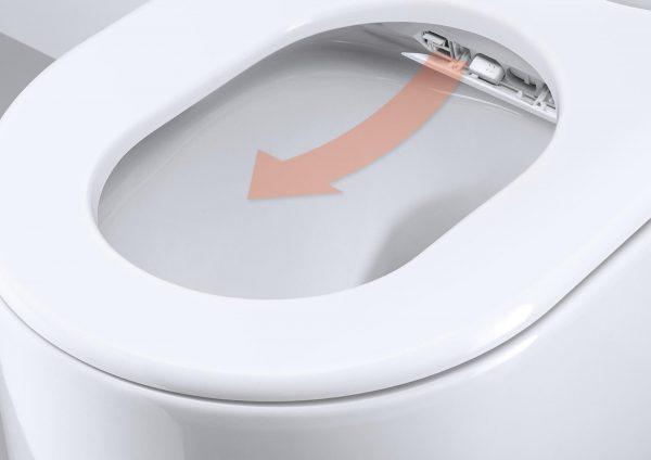 Унитаз с системой подачи моющего средства