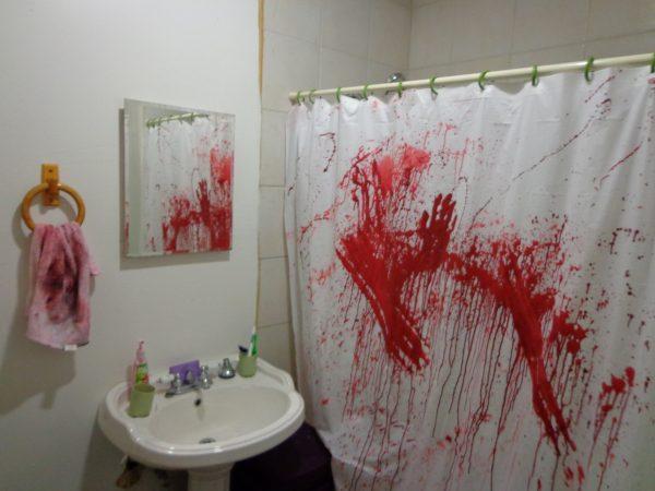 ванная на хэллоуин