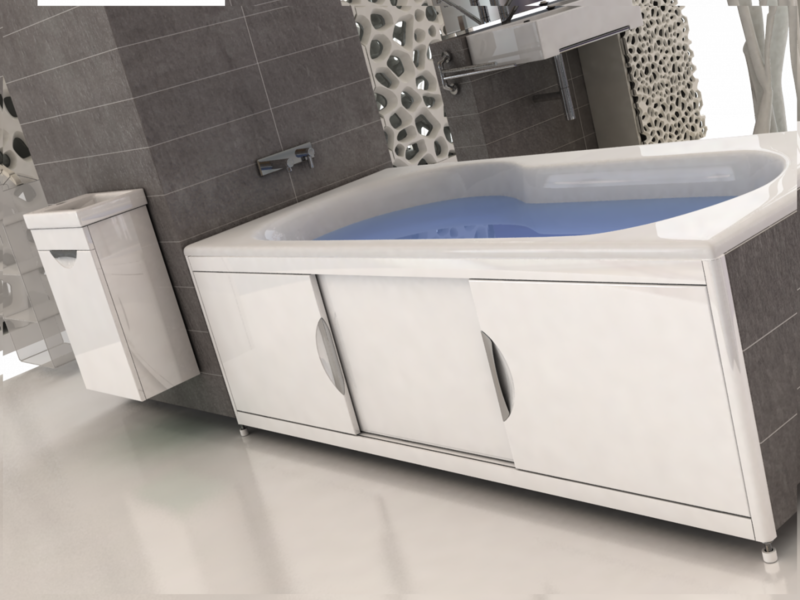 Экран для ванны своими руками: пошаговая инструкция