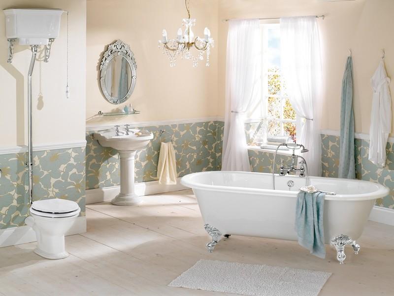 Ванная комната в стиле прованс: фото модных интерьеров