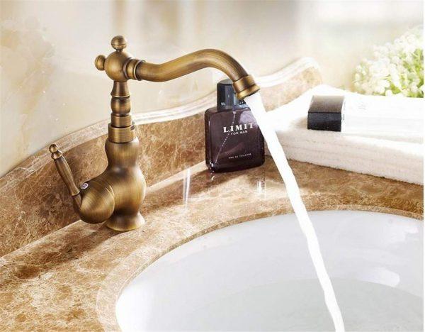 Смесители для ванной комнаты в стиле прованс