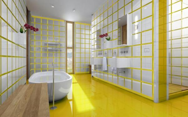 Новый вид ванной после обработки швов
