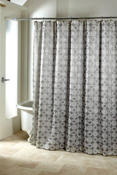 Тканевая занавеска в душ