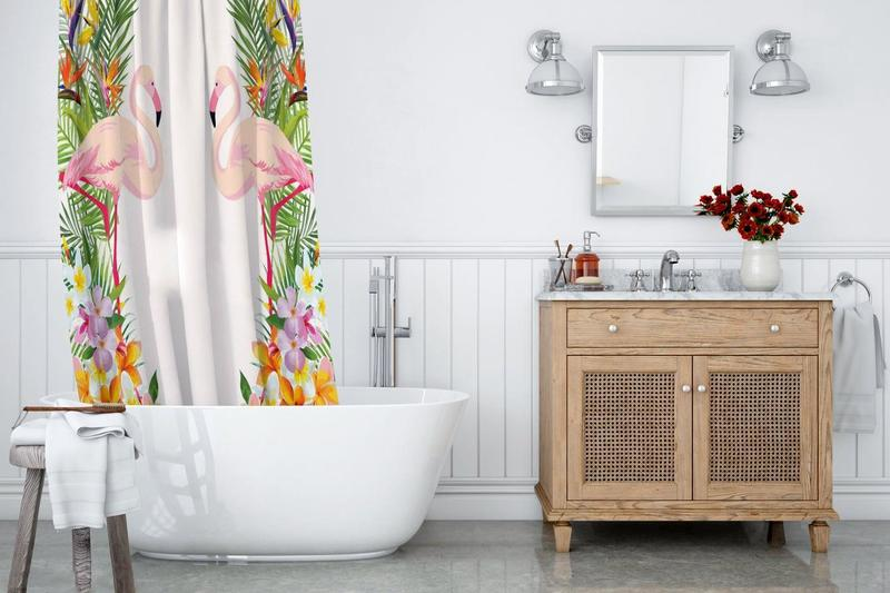 Как отмыть штору в ванной: можно ли стирать в машинке?
