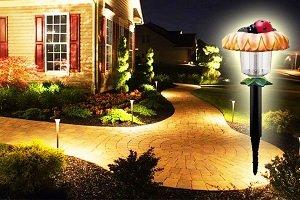 Садовые фонари на солнечных батареях: устройство, преимущества и разновидности