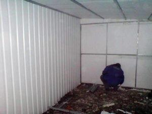 Утепление стен погреба пенопластом