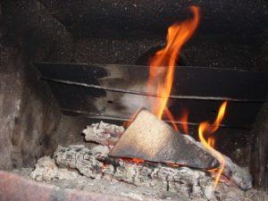Воспламеняемость древесины