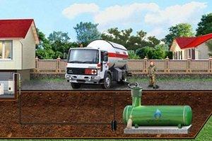 Что такое газгольдер для частного дома