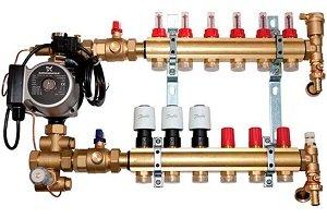 Насос для отопления теплого пола: выбор, установка и расчёт мощности
